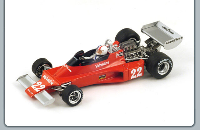 1/43 ENSIGN N176 #22 BELGIAN GRAND PRIX  F1 1976 CHRIS AMON SPARK