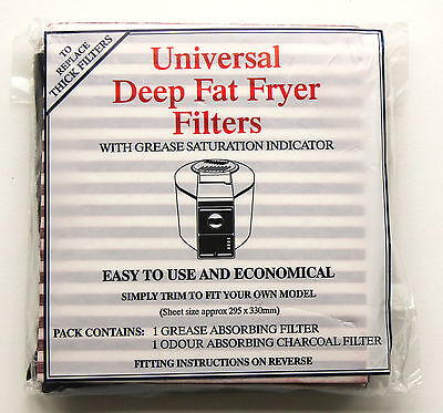 Thick 6722 Fryer Filter 8211 and 8970 thick style cut to size Universal 1709
