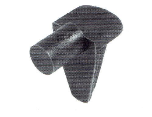 20 Bodenträger mit 6 mm Zapfen Kunststoff braun