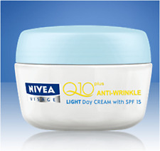 Nivea Visage Q10 Plus Anti-Wrinkle Light Day Cream with SPF 15 50ML