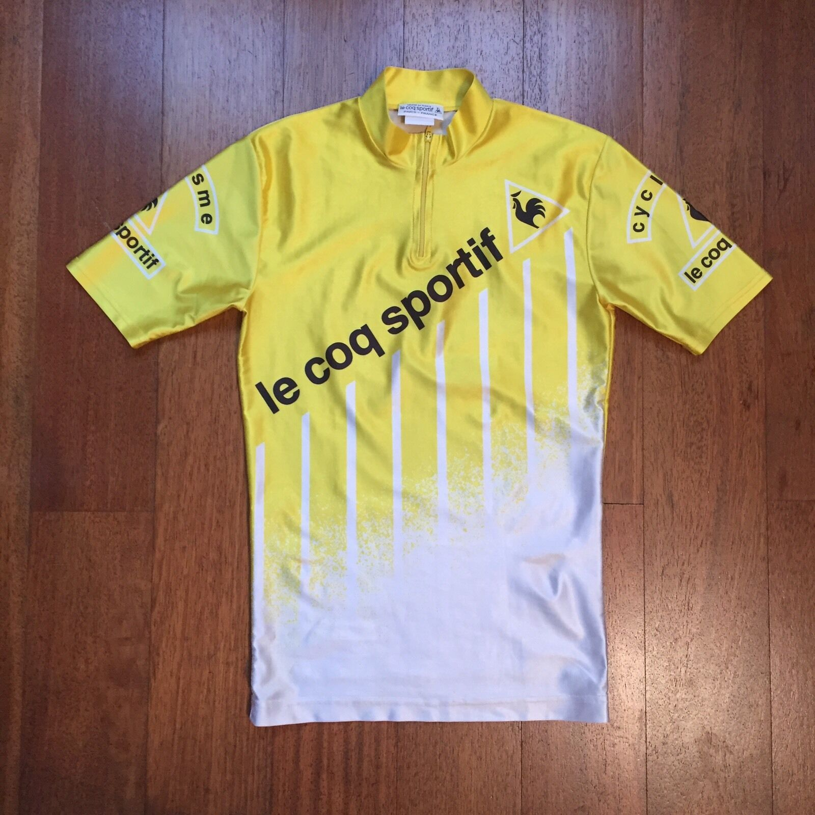 Maillot De Cycliste Vintage Le Coq Sportif Smtutti - Cycling Jersey