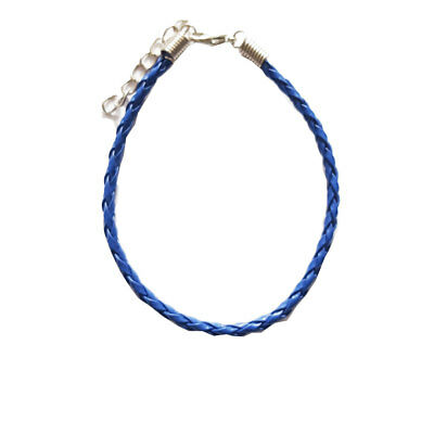 Anklets Braided Navy Leather Anklet,rockabilly,bohemian,ankle Bracelet,summer,holiday Reliable Performance Fashion Jewelry