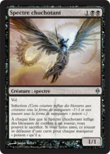 MRM FRENCH 4x Spectre chuchotant Whispering Specter MTG magic NPH