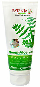 60-gm-Herbal-Neem-Aloe-Vera-with-Cucumber-Face-Pack-From-Patanjali
