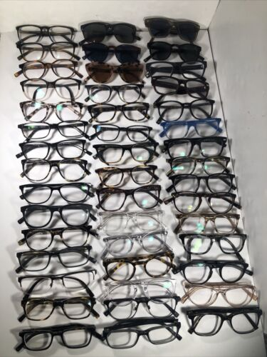 Lot Of 45 Warby Parker Eyeglasses/ Sunglasses EB