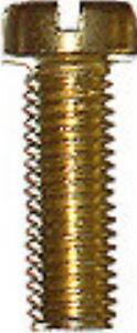 25-Zylinderschrauben-Messing-M-2-5