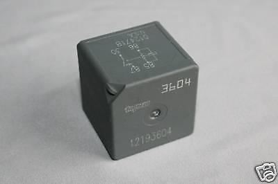 Tyco Relay for Starter Defogger 12193604