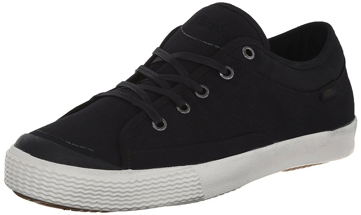 Simple New Men's Boy Sneaker Black Wingman Trainers Skater Casual Fashions Shoes