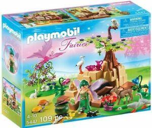 PLAYMOBIL-Zaubertrankfee-Elixia-im-Tierwaeldchen-ab-4-Jahren-Zauberfee-Zauber-Fee
