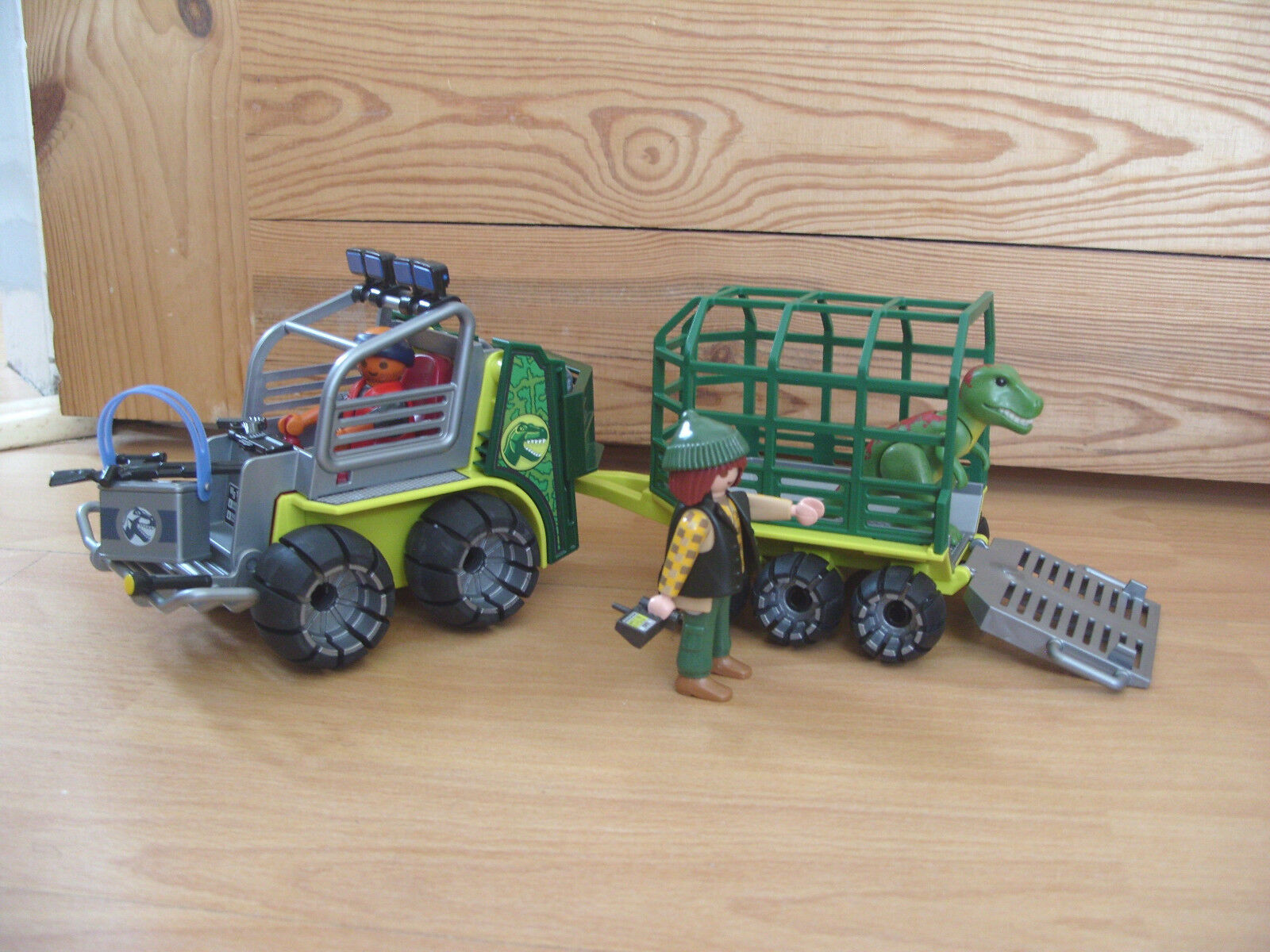 Playmobil 100% 100% 100% Complete Set 5236 Dinosaur Transport Vehicle with Baby T-Rex e68b6d