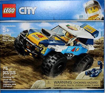 LEGO CITY 60218 Desert Rally Racer ~ NEW /& Unopened~