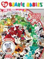 Masterpieces Round Ty Beanie Babies Puzzle Find Peace Beanie Baby 700 Pcs 31529