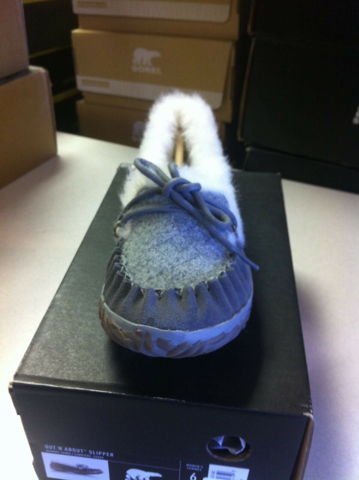 Women's Sorel Out N about Slipper color Quarry size 7 pair winter slipper