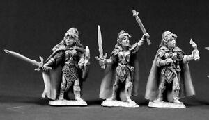 3-x-FEMALE-ELVES-DARK-HEAVEN-LEGENDS-REAPER-miniature-jdr-rpg-elf03367