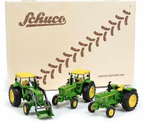 SCHUCO 1 32 SCALE JOHN DEERE 3120 COLLECTORS CHRISTMAS LIMITED EDITION (500 PCS)