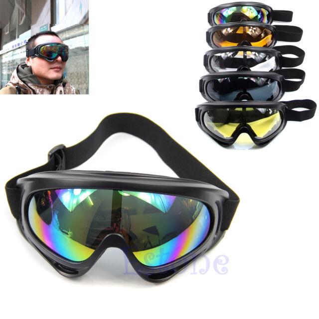Snowboard Dustproof Sunglasses Motorcycle Ski Eye Glasses Lens Frame Goggles New
