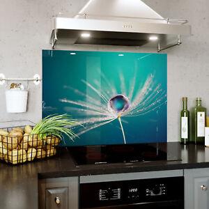 Verre Splashback Cuisine & Salle De Bain Panel Toute Taille Goutte D'eau Macro Zoom 0412-afficher Le Titre D'origine