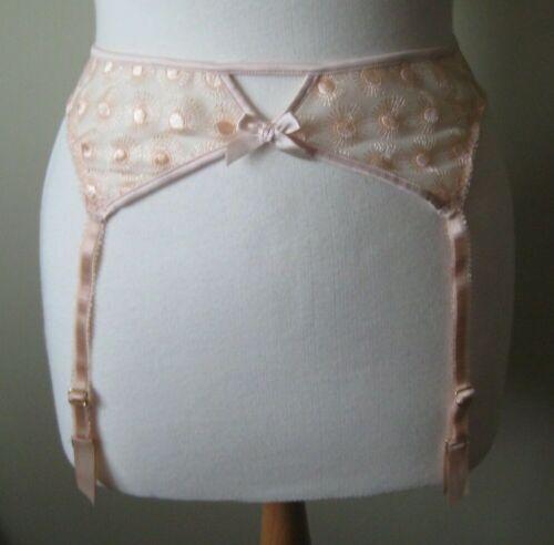 New L/'Agent by Agent Provocateur Casie Suspender belt Large Nude