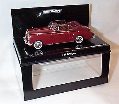 Amabile Rolls Royce Silver Cloud 11 Cabriolet Rosso Nuovo In Scatola Ltd Edition 436134930-mostra Il Titolo Originale