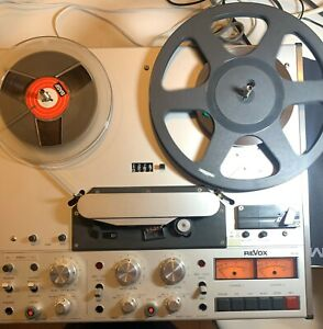 ReVox-PR-99-MK-I-2-track-Professional-player-Recorder-recapped-see-video