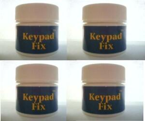 KEYPAD FIX 4-PACK LOT - Permanently Repairs All Rubber Keypads