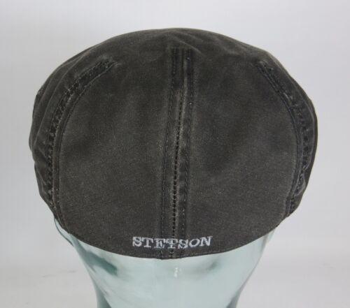 Stetson Driver Cap Flatcap Casquette Anthracite sport Casquette aspect use 6221102 Nouveau