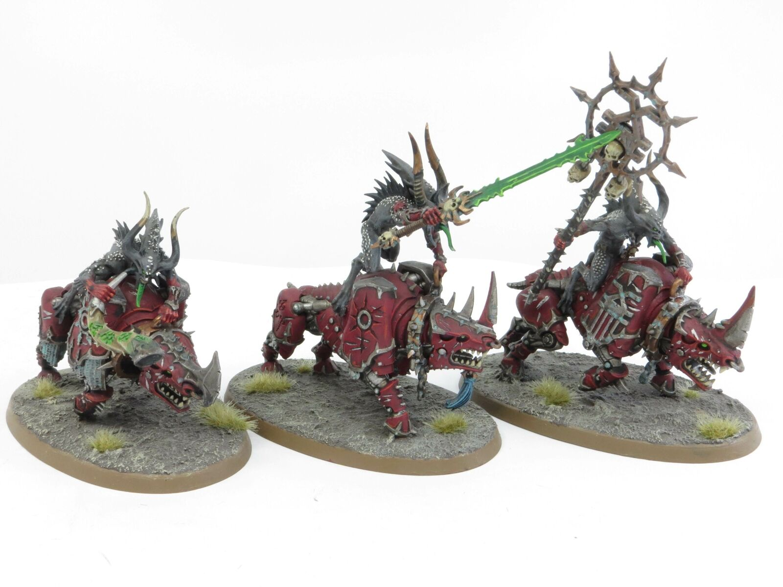 BLOODCRUSHERS OF KHORNE - Painted Chaos Daemons Blades Warhammer 40k Army