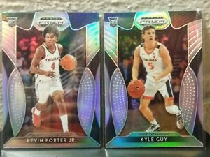 KEVIN-PORTER-JR-amp-KYLE-GUY-2019-20-PRIZM-ROOKIE-CARDS-HOLO-PRIZM-SP-2-CARD-LOT