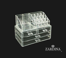 Clear Acrylic Make Up Organiser Storage Box (A2)