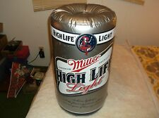 nef. NIP Miller High Life Light Inflatable Beer Can w/Hanging String Lady  Moon