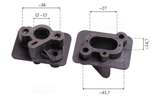 Ansaugflansch für BullPower MF-5203 Berlan BMS520A Motorsense Demon RQ580