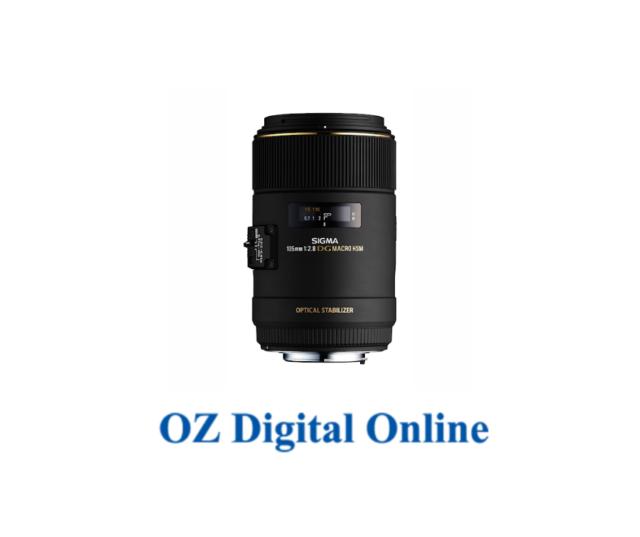 New Sigma MACRO 105mm F2.8 EX DG OS HSM (Canon) Lens 1 Year Au Warranty