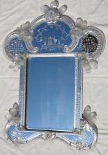 Miroir Murano romantique 1950/70