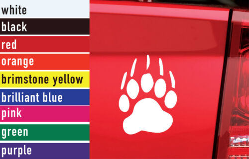 Bear Paw Hunting Vinyl Sticker Decal Car-Truck Laptop-Netbook 1464