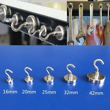 8 x Strong 9KG Hold Picture Frame Hooks Wall Hangers Hanging Brass Hook