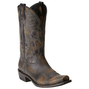 a4280e2de02 Details about New Men's Ariat 10015384 Lawless Square toe Leather Cowboy  Boot