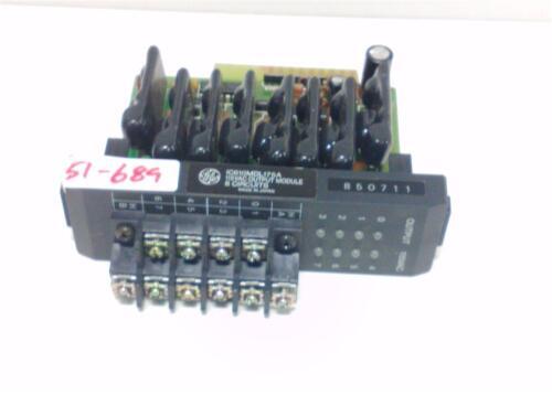 GE FANUC 115VAC OUTPUT MODULE 8 CIRCUITS IC610MDL175A