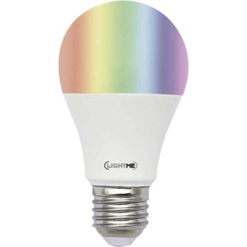 A++ - E A+ 6 W  RGBW    6 kWh//1000h LightMe  LM85193  E27 Leistung LED EEK