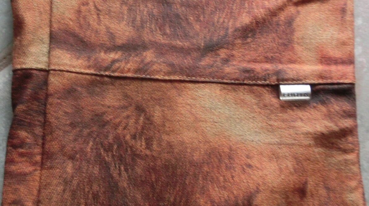LUHTA  Jeans HOSE HOSE HOSE braun NP   Gr.L 42  44  40  7 8 Buntweite  ca 42 cm 2 in 1 | Genialität  227c96