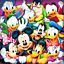 5D diamond painting Mickey Mouse And its friends furniture decoration technology