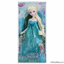 NEW Disney Store Frozen Elsa Classic Doll Figure Princess Girl Deluxe Toy 12""
