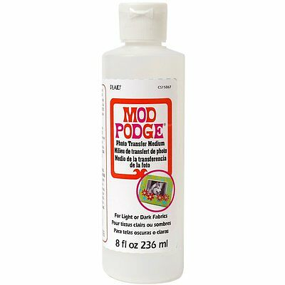 Mod Podge PhotoTransfer Medium(8-Ounce)CS15067-Water based-non-toxic NEW