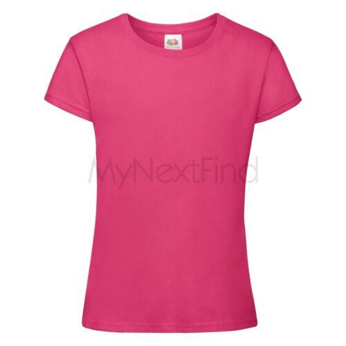 Fruit of the Loom Girls Sofspun T-Shirt