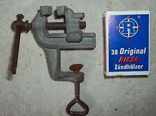 SELTEN!! kleiner Schraubstock 7cm aus Kaufmannsladen-Metall