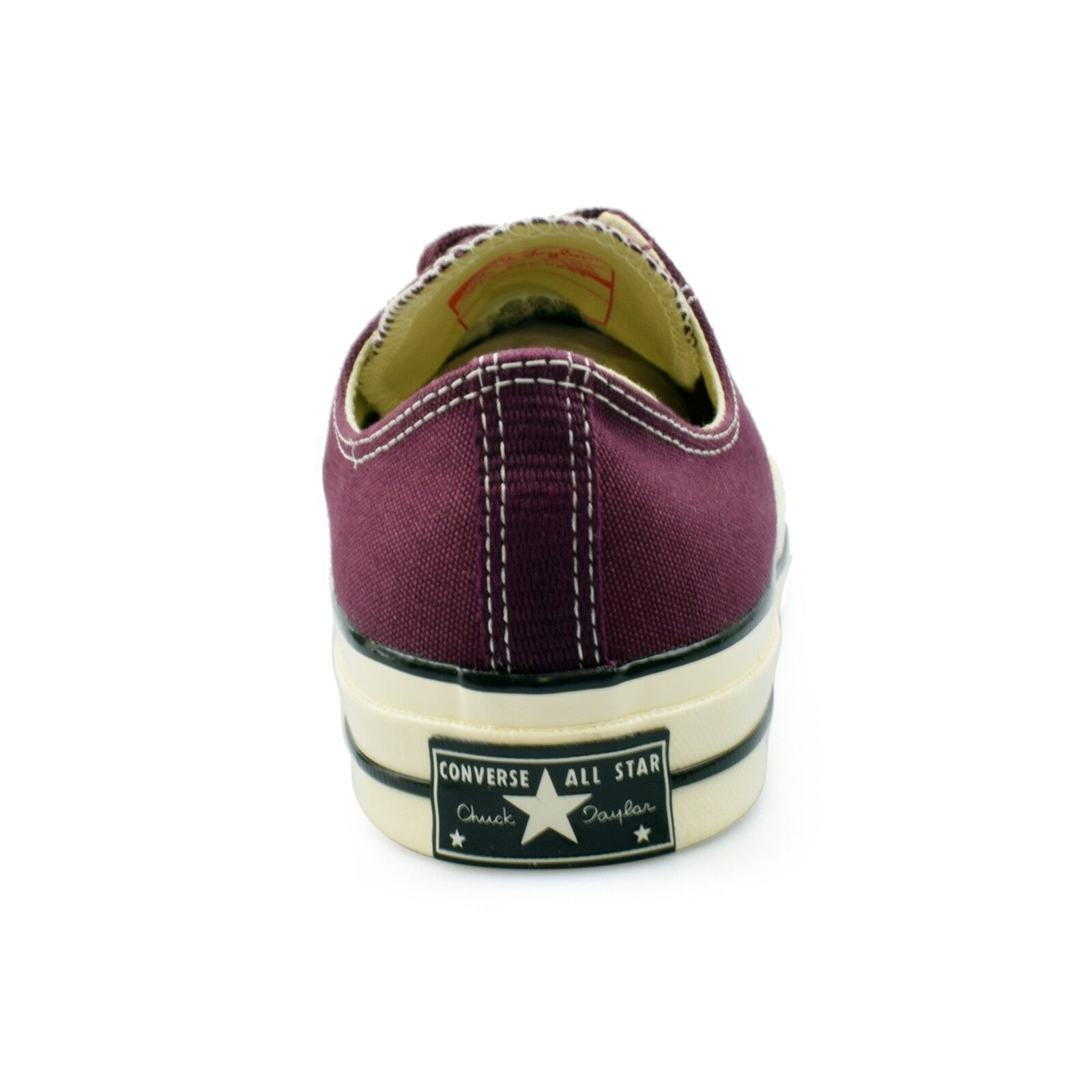 Converse Dark Chuck Taylor All Star 70's Ox Dark Converse Sangria Canvas Mens Trainers f503f9