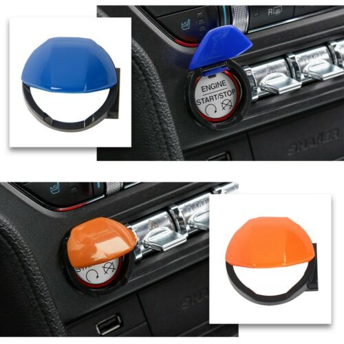 9Colors Engine Start Stop Button Push Switch Cover Trim For 15-18 Ford Mustang