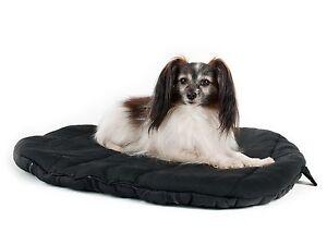 Lit ovale pour chien Back On Track®, The Original, noir, revendeur