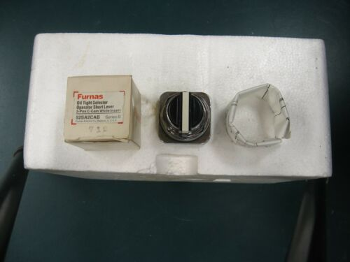 Two 2 Furnas Oil Tight Selector Operators 52SA2CAB 3 position C Cam ShortLever