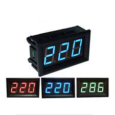 056 In Digital Voltmeter Ammeter Dc Panel Amp Volt Voltage Current Meter