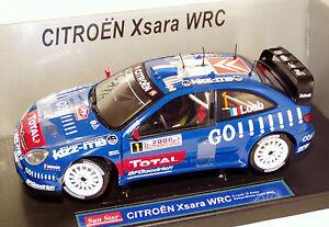 1/18 Citroen Xsara Wrc Kronos Rallye Monte Carlo 2006 Champion du Monde S.loeb